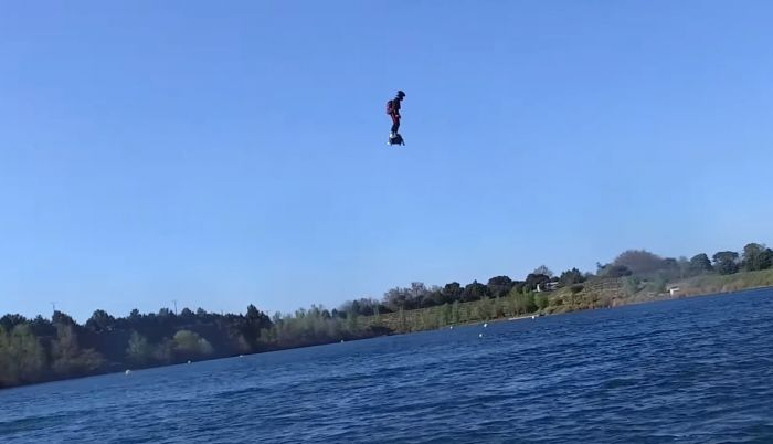 'I believe I can fly' con el nuevo Flyboard Air
