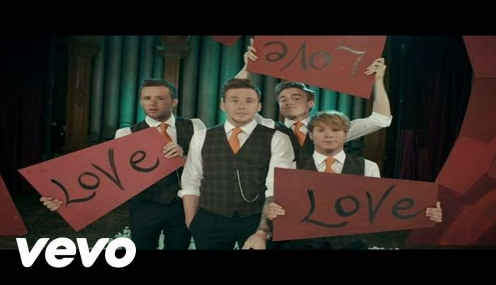 Love is easy. Mcfly